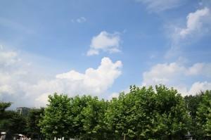 東京夏の空2014