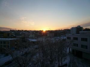 2014冬の朝