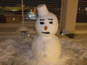 20151127雪だるま1